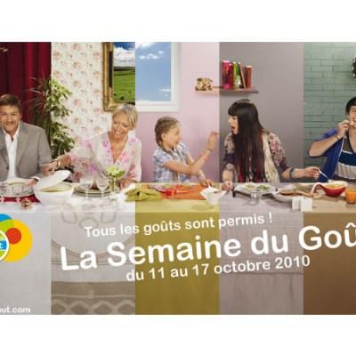 La semaine du goût - Du 11 au 17 octobre 2010