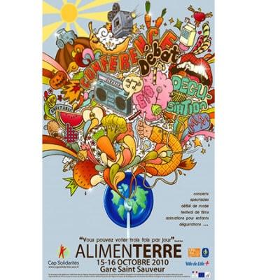 ALIMENTERRE - Les 15 et 16 octobre 2010 à Lille