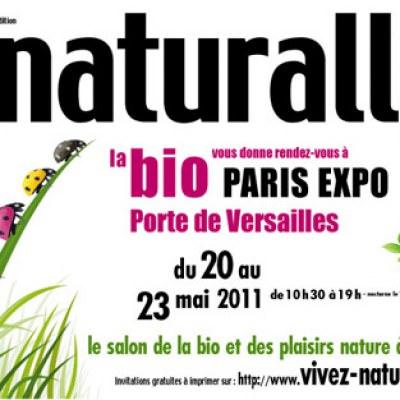Naturally, salon de la BIO à Paris du 20 au 23 mai 2011
