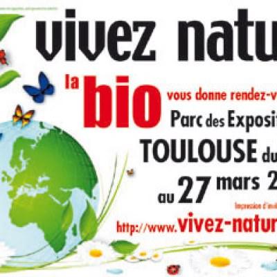 Salon Vivez Nature du 25 au 27 mars à Toulouse