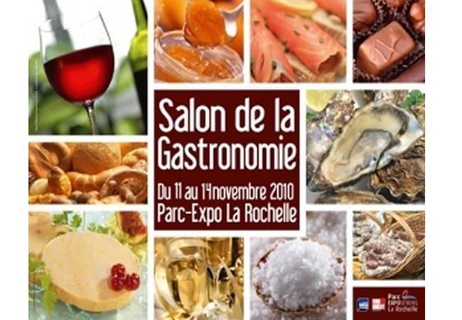 Salon de la Gastronomie à La Rochelle du 11 au 14 novembre 2010