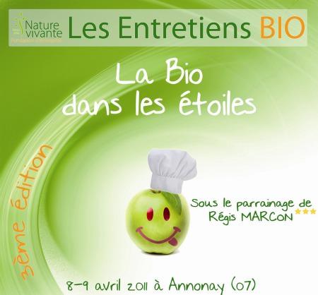 La Bio dans les Etoiles- Les 8 et 9 avril 2011 à Annonnay