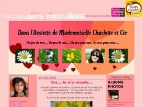 Dans l'assiette de Mademoiselle Charlotte & cie