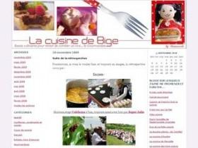 La cuisine de Bige