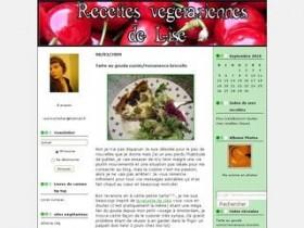 Recettes végétariennes de Lise
