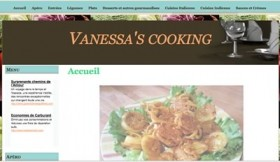 Vanessa's cooking