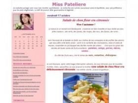La cuisine de Miss Pat'