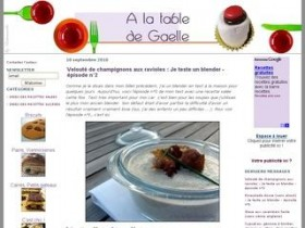A la table de Gaëlle