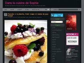 Dans la cuisine de Sophie