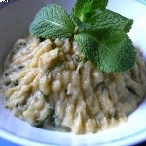 facile à cuisiner Aubergine  à la Menthe cuisine végétarienne
