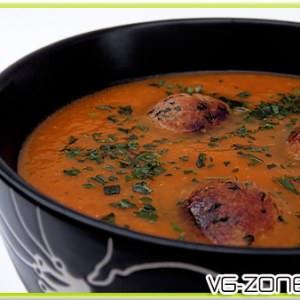 simple à cuisiner Belgian Tomato Soup recette végétarienne