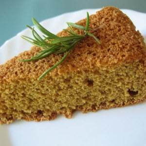 simple à préparer Biscuit de Savoie citron romarin cuisine végétarienne