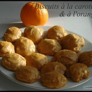facile Biscuits à la Carotte & à l'Orange recette