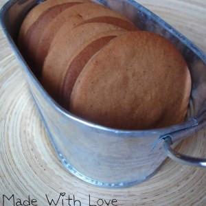 simple à cuisiner Biscuits chocolat-noisette recette végétarienne