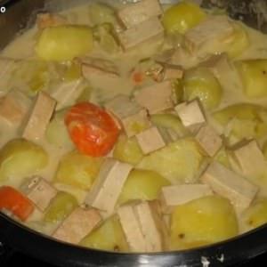 facile à cuisiner Blanquette végétarienne recette