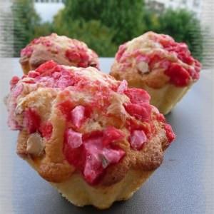 rapide Briochettes aux pralines roses  préparer la recette