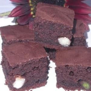 rapide Brownie aux pistaches & aux noix recette