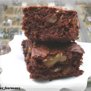 rapide à cuisiner Brownies à la banane cuisiner la recette