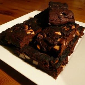 rapide à cuisiner Brownies aux noix de Macadamia recette de