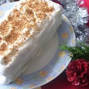 simple à cuisiner Bûche de Noël cuisine végétarienne