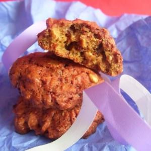 rapide à cuisiner Cookies aux betteraves et aux noisettes grillées cuisine végétarienne