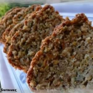 facile Cake à la courgette & à la carotte recette