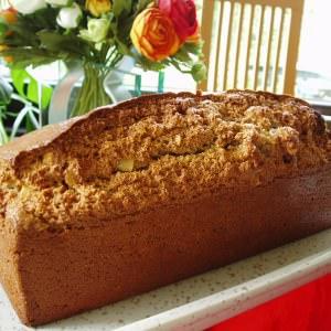 rapide Cake à la farine de chataîgne, amandes et noisettes cuisiner la recette