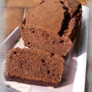 rapide Cake au chocolat et Saint-morêt ® cuisine végétarienne