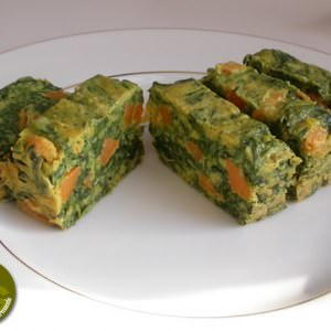 rapide Cake aux Epinards et Patate douce cuisiner la recette