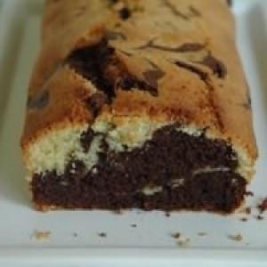 simple à cuisiner Cake marbré chocolat-citron recette de