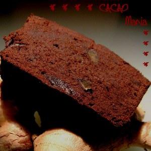 rapide Cake au chocolat et gingembre confit cuisine végétarienne