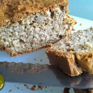 facile Cake nature sésame cuisine végétarienne