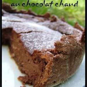 simple à cuisiner Cheesecake au Chocolat chaud recette végétarienne