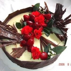 simple à préparer Cheesecake au chocolat blanc préparation