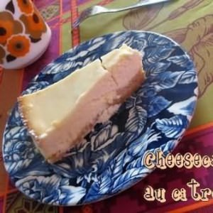 facile à cuisiner Cheesecake au citron préparer la recette