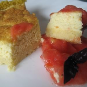 rapide à cuisiner Cheesecake au millet & son coulis rouge recette végétarienne