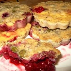 facile Clafoutis framboises rose pistache recette végétarienne