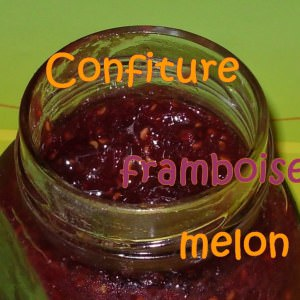 rapide Confiture de melon aux framboises cuisine végétarienne
