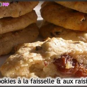 simple à préparer Cookies à la faisselle et aux raisins secs cuisiner la recette