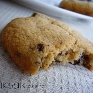 facile à cuisiner Cookies au beurre de cacahuètes et au chocolat recette