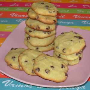 simple à préparer Cookies au quinoa et aux pépites de chocolat recette végétarienne
