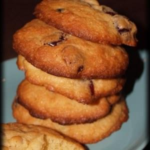 rapide à cuisiner Cookies aux Noix de Macadamia, Cranberries & au Gingembre préparer la recette