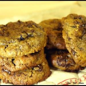 rapide Cookies mélasse rhum-raisin préparation
