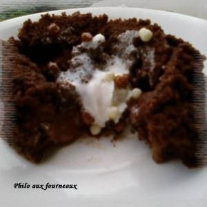 simple à cuisiner Coulant chocolat & toblerone préparation