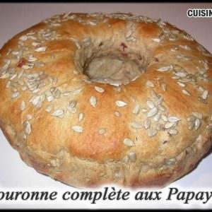 facile à cuisiner Couronne complète aux Papayes recette végétarienne
