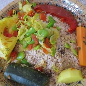 simple à cuisiner Couscous aux fèves cuisiner la recette