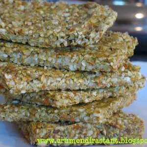 rapide à cuisiner Craquelins de graines de citrouille recette de
