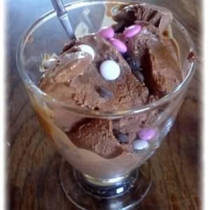 simple à cuisiner Crème Glacée au chocolat cuisine végétarienne