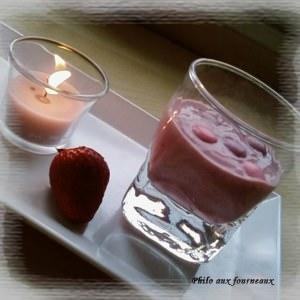 facile à cuisiner Crème soyeuse au tofu et aux fraises recette