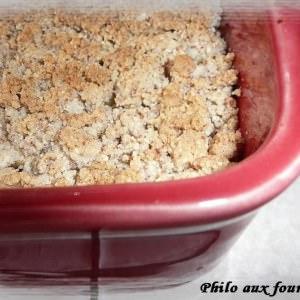 facile Crumble pommes et poires recette